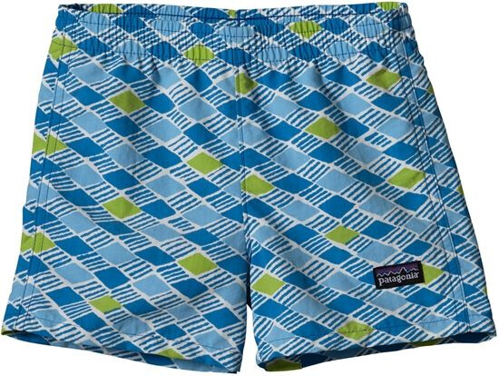 Patagonia Baby Baggies Shorts Treas Grove Pepp Grön (570)